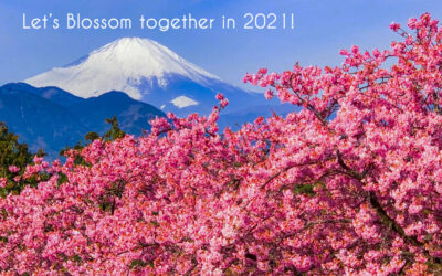 Let's blossom together in 2021!